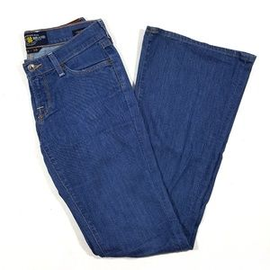 Lucky Brand Charlie Flare Violet Jeans Size 0/25